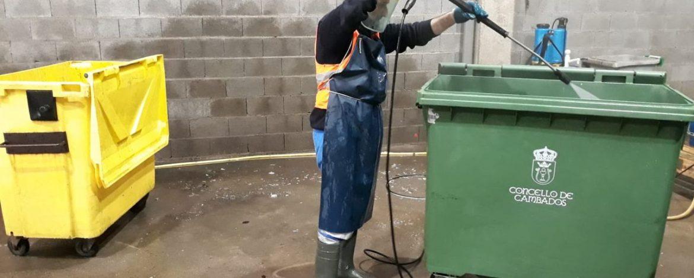 Importancia de la limpieza de contenedores de basura